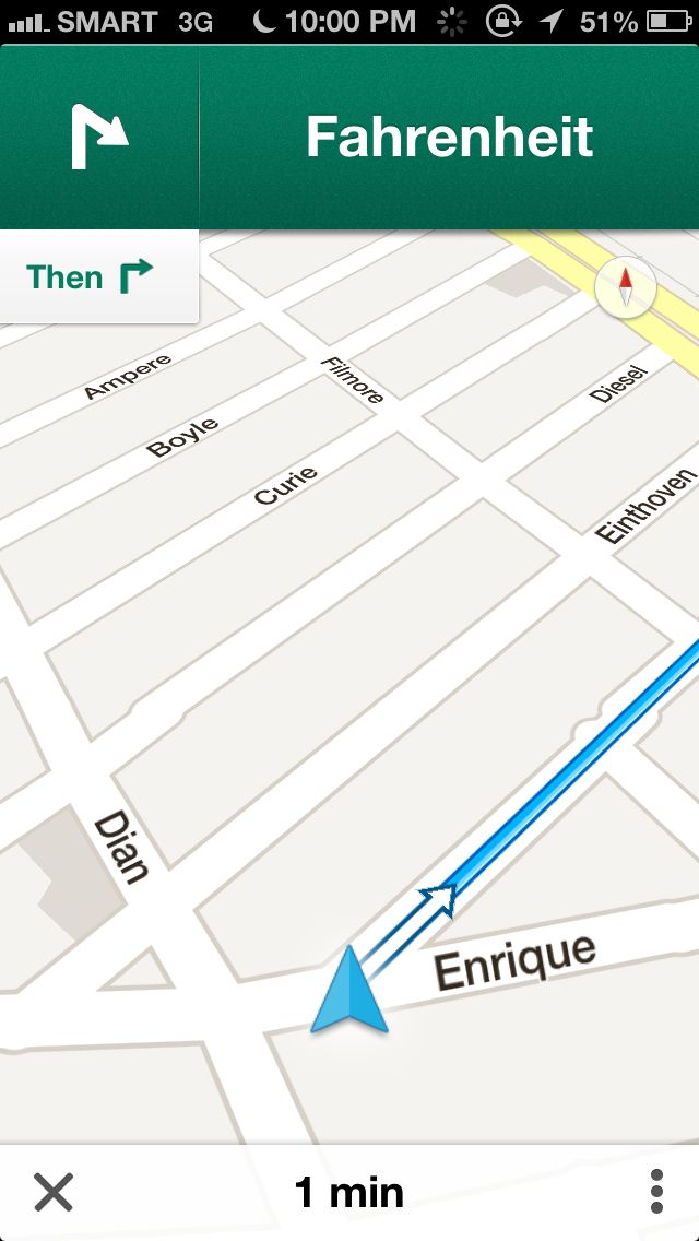 google maps navigation works in the philippines dr on the go tech review. Black Bedroom Furniture Sets. Home Design Ideas