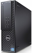 Dell Precision T1700 small form factor  (angled view)