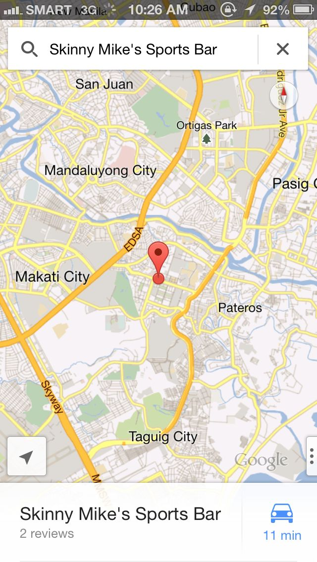 Google Maps Navigation Works in the Philippines • DR on the GO ...
