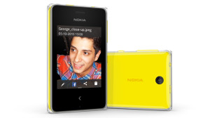 Nokia Asha 500. Photo courtesy of Nokia Conversations website.