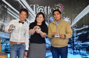 Vice President for Globe Tattoo Nomadic Broadband Business Dong Ronquillo, Senior Product Manager Grace Calara and Head of Network Planning Joel Agustin-2