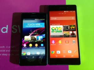 Sony Xperia Z1C & the Sony Xperia Z2