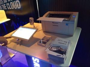 Samsung Galaxy Tab 10.1 with a Samsung Printer