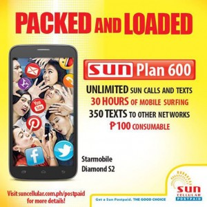 Diamond S2 with PACKED and LOADED Sun Plan 600