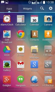 LG L70 - software2