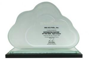 MSI-ECS Microsoft Distributor Partner of the Year - Open License Award