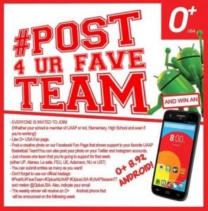 O Plus Fave Team