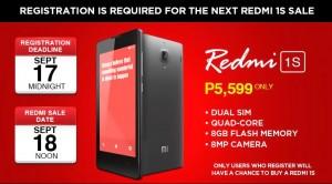 Redmi 1S Sale