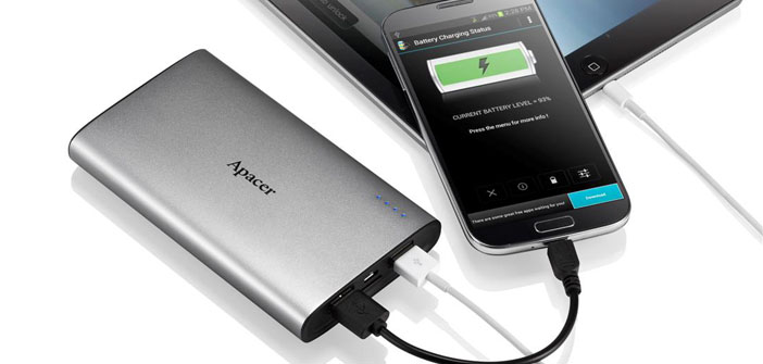 Apacer Launches Two New Power Banks