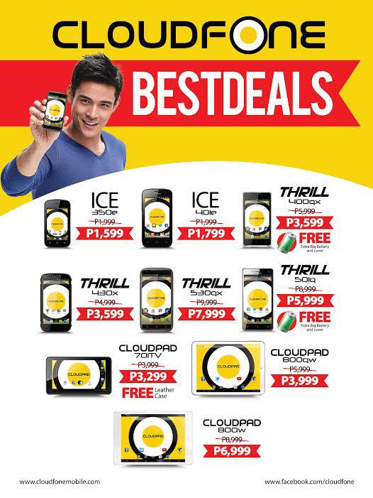 CloudFone Best Deals