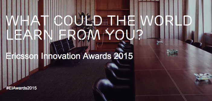 Ericsson Launches the 6th Annual Innovation Awards