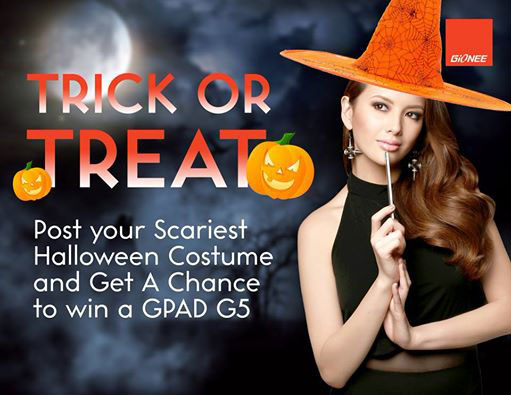 Gionee Trick or Treat