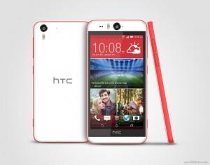 HTC Desire Eye in Red
