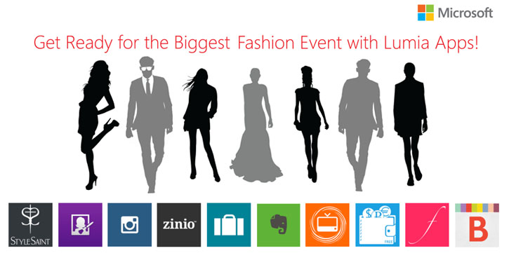 Lumia Apps for Philippine Fashion Week