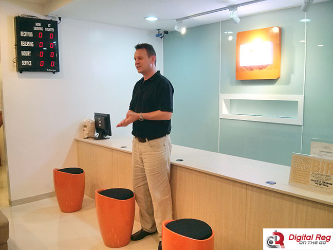 Xiaomi General Manager for Southeast Asia Steve Vickers