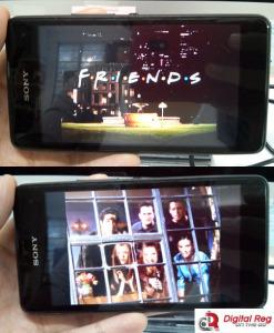 Xperia E1 - Display