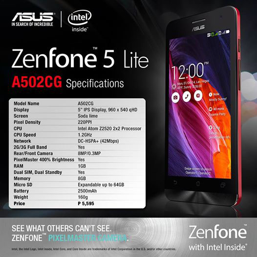 Make Way for the ASUS Zenfone 5 Lite