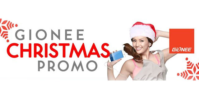 Get The Best Smartphone Deals from Gionee's Christmas Promo