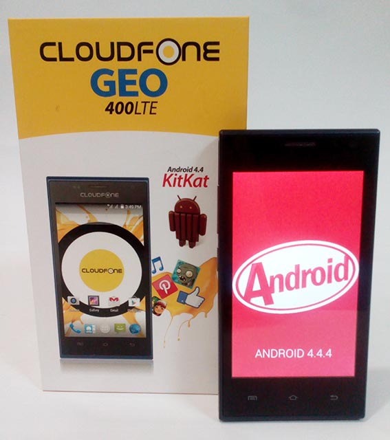 CloudFone Geo 400LTE and Geo 400LTE+ Promote Cheap LTE