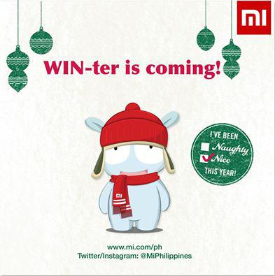 Come to the Mi SM North EDSA Christmas Sale