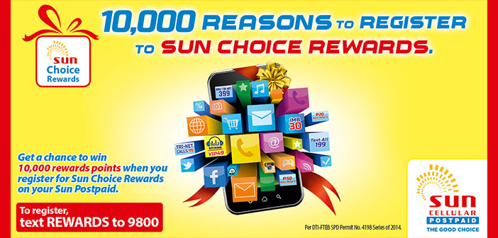 Get Great Rebates with the Sun Choice Rewards Program