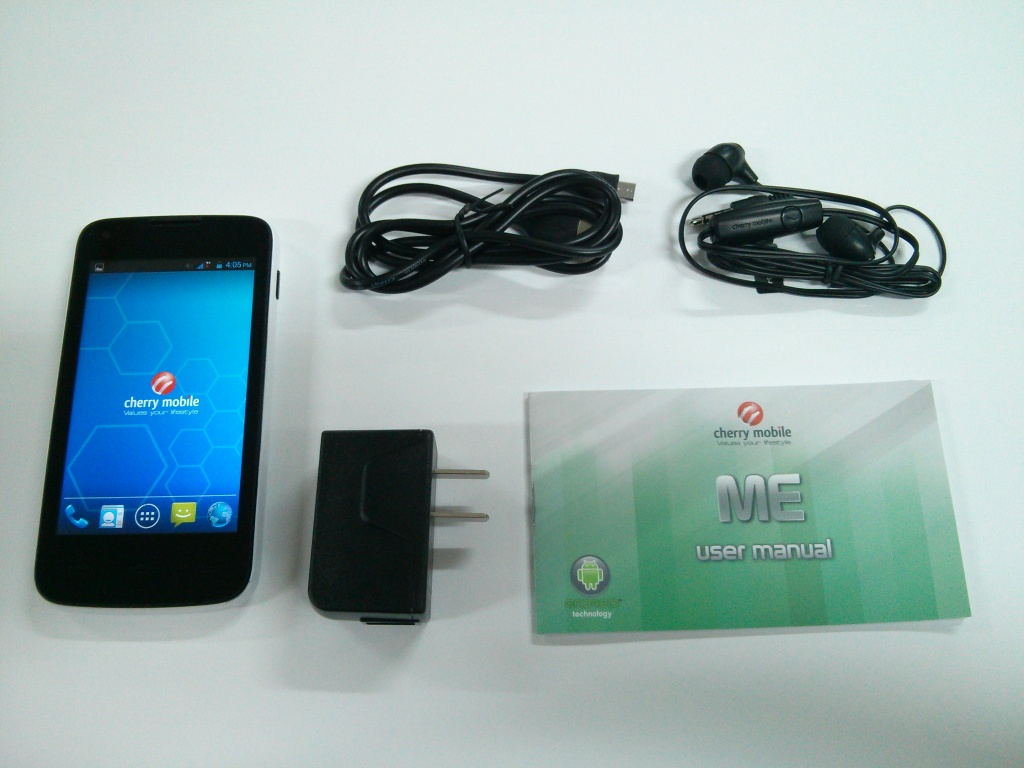 Cherry Mobile ME - Unboxing