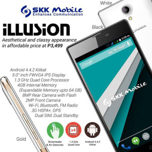 SKK Mobile Releases Illusion for Php3,499