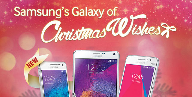 Get Your Galaxy Device for Less with Samsung's Galaxy of Christmas Wishes!