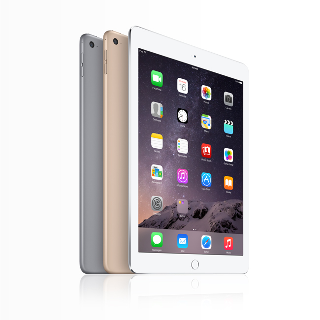 The iPad Air 2 and the iPad Mini 3 are now with Smart