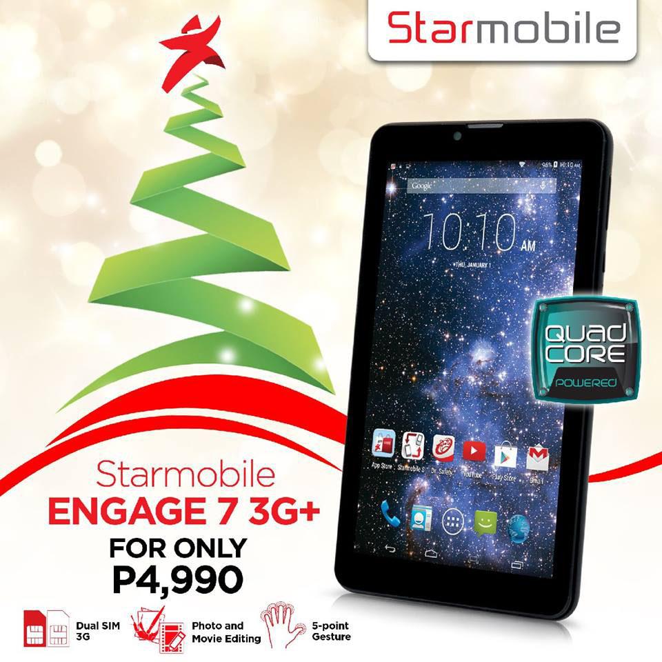 KitKat for Less: Starmobile Engage 7 3G+