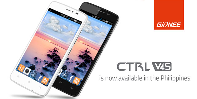 The Gionee CTRL V4S Is Here