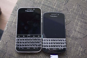 BlackBerry Classic and BlackBerry Q10