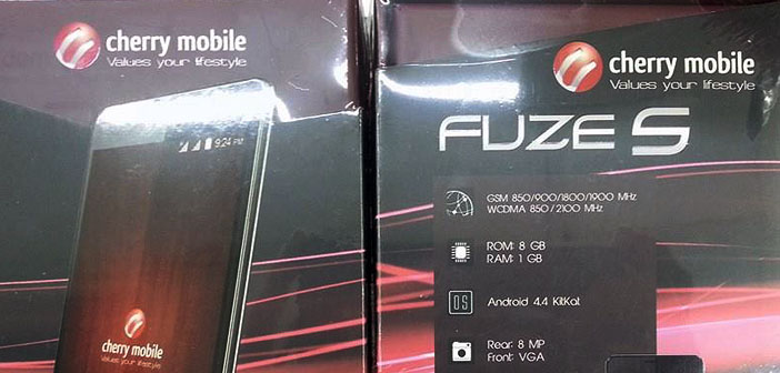 Cherry Mobile Fuze S in the Wild
