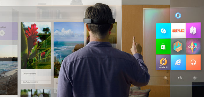 Microsoft Unveils Two New Devices- the HoloLens and the Surface Hub