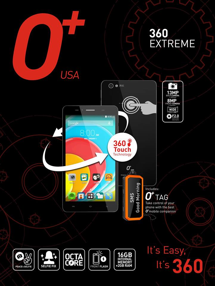 O Plus 360 Extreme and O Plus Tag