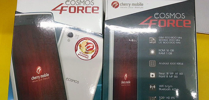 seen - cherry mobile cosmos force