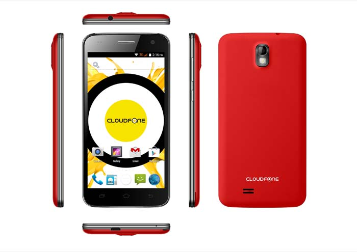 CloudFone Excite 501o - Red