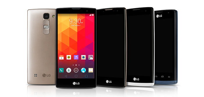 LG Announces New Selfie Stick Phones- Magna, Spirit, Leon, and Joy