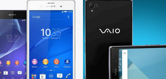 Sony Plans to Leaves the Smartphone Game - VAIO Enters It