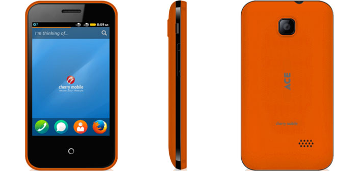 MWC Meets Cherry Mobile ACE - The Cheapest Smartphone in the World