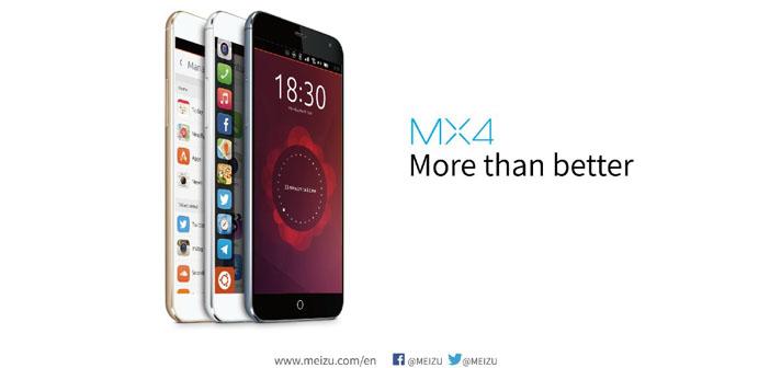 Meizu Reveals Ubuntu OS on MX4