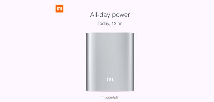 Check Out the Mi Power Bank at Lazada Today