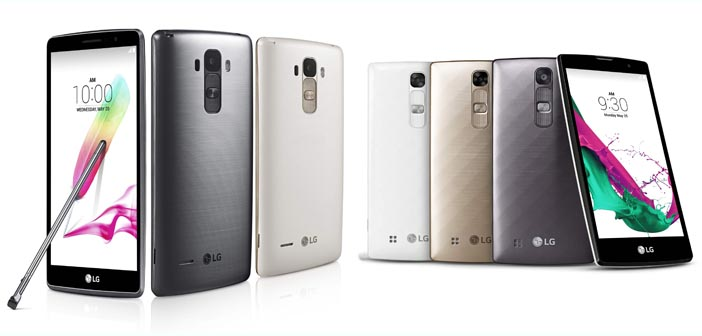 LG Announces the LG G4 Stylus and the LG G4c