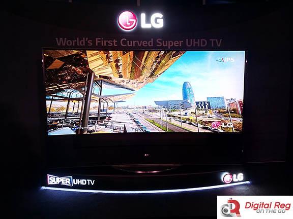 LG Curved UHD TV