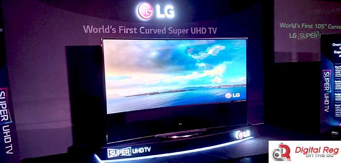 LG Launches Its 105-inch CURVED Super ULTRA HD TV