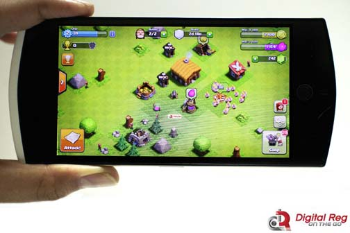 cherry mobile selfie - clash of clans