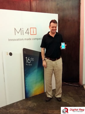 Steve Vickers, General Manager, Xiaomi Southeast Asia