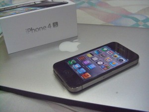 I got my #SmartiPhone4s last December 2011