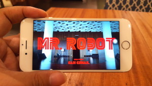 Watched Mr. Robot via iflix on the #SmartiPhone6s