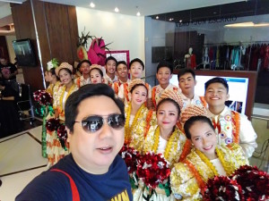 Dance Troupe at Marriott Cebu. Photo taken with my Asus Zenfone Max